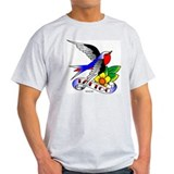Old Skool Tattoo Swallow T-Shirt