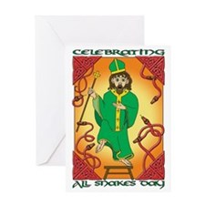 All Snakes Day Greeting Card