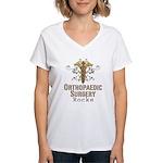 Orthopaedic Surgery Rocks Women's V-Neck T-Shirt