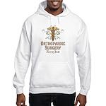 Orthopaedic Surgery Rocks Hooded Sweatshirt