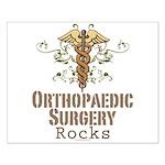 Orthopaedic Surgery Rocks Small Poster