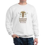 Thoracic Surgery Rocks Sweatshirt