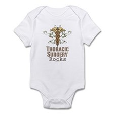Thoracic Surgery Rocks Infant Bodysuit