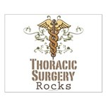 Thoracic Surgery Rocks Small Poster