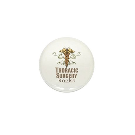 Thoracic Surgery Rocks Mini Button (100 pack)