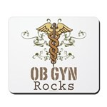 OB GYN Rocks Mousepad