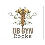 OB GYN Rocks Small Poster
