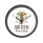 OB GYN Rocks Wall Clock