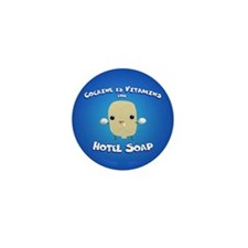 Cocaine Hotel Soap Mini Button (10 pack)