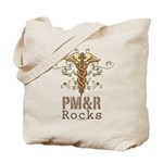 PM and R Rocks Tote Bag