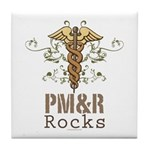 PM and R Rocks Tile Coaster