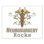Neurosurgery Rocks Small Poster