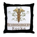 Neurosurgery Rocks Throw Pillow