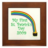 My First St. Patrick's Day 2009 Framed Tile