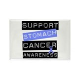 Support Stomach Cancer Rectangle Magnet (10 pack)