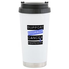 Support Stomach Cancer Ceramic Travel Mug