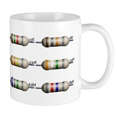 12 Standard resistors Mug