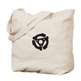 "DJ 45rpm 7"" Record Tote Bag"