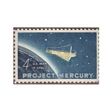 Project Mercury Rectangle Magnet (100 pack)