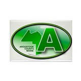 Funny Aroostook Rectangle Magnet (100 pack)