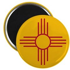 "New Mexico State Flag 2.25"" Magnet (100 pack)"