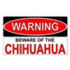 Beware Chi Rectangle Sticker 10 pk)