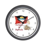 Antigua & Barbuda Wall Clock