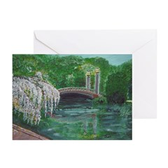 New Orleans Christmas Art Greeting Cards (Package