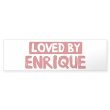 Loved by Enrique Bumper Sticker (50 pk)