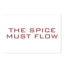 The Spice Must Flow Postcards (Package of 8)