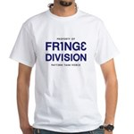 FRING3 DIVI5ION White T-Shirt