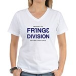 FRING3 DIVI5ION Women's V-Neck T-Shirt