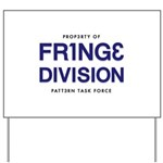 FRING3 DIVI5ION Yard Sign