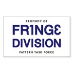 FRING3 DIVI5ION Rectangle Sticker 10 pk)