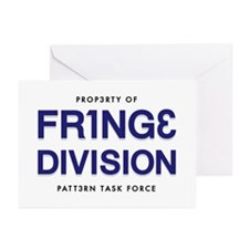 FRING3 DIVI5ION Greeting Cards (Pk of 10)