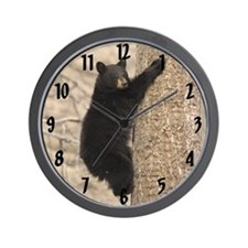 Bear Cub Wall Clock (tree)