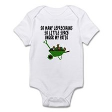 Funny Leprechaun Infant Bodysuit