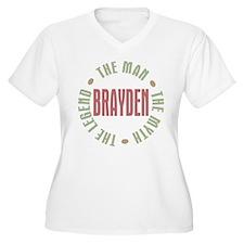 Brayden Man Myth Legend T-Shirt