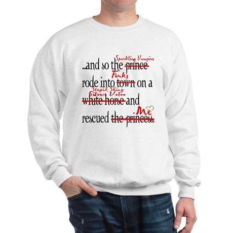 True Happy Ending Of Twilight Sweatshirt