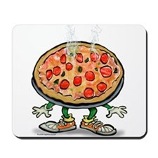 Funny Pizza delivery Mousepad