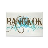 Bangkok Thailand Rectangle Magnet (10 pack)