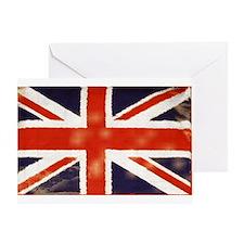 oddfrogg Vintage Union Jack Greeting Card