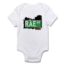 RAE AVENUE, STATEN ISLAND, NYC Infant Bodysuit