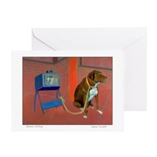 GUNNAR WAITING Greeting Card