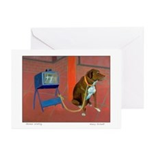 GUNNAR WAITING Greeting Cards (Pk of 10)