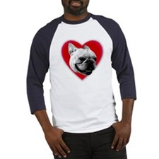 Love French Bulldog Baseball Jersey