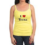 I Love Teena Jr. Spaghetti Tank
