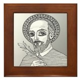 St. Francis de Sales Framed Tile
