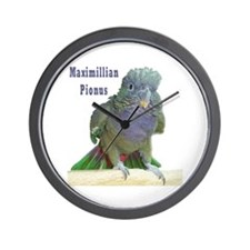 Maximillian Pionus Wall Clock