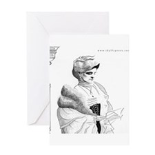 Edith Wharton Greeting Card